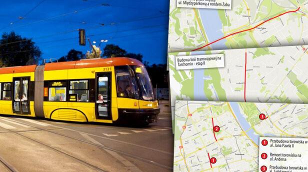 Plany tramwajarzy na 2016 rok ZTM, targeo
