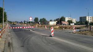Zamknęli skrzyżowanie na Białołęce. Budują tramwaj na Tarchomin
