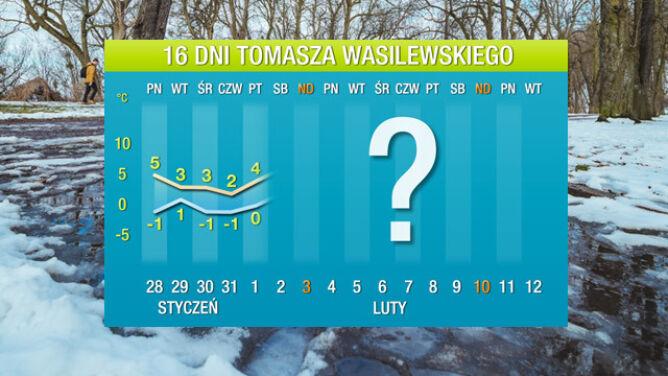 Prognoza na 16 dni: mróz wycofuje się z Polski