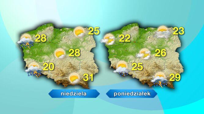 Prognoza pogody na długi weekend