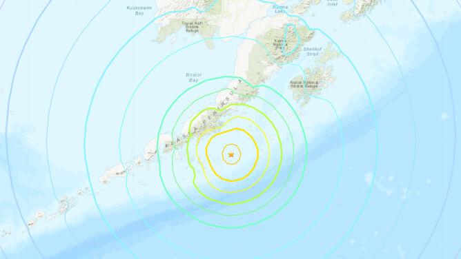 Trzęsienie ziemi w okolicach Alaski. Może pojawić się tsunami, także w innych krajach