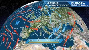 Pogodę w Polsce kształtuje niż Donald