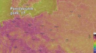 Temperatura w najbliższych dniach (ventusky.com) | wideo bez dźwięku